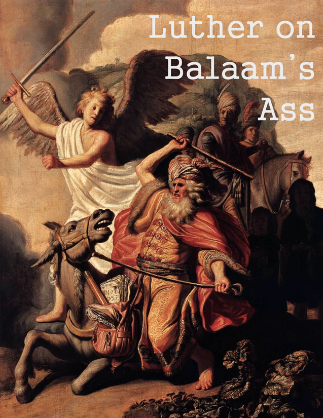 Luther on Balaam's Ass